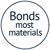 Bostik DIY Bonds most materials Badge