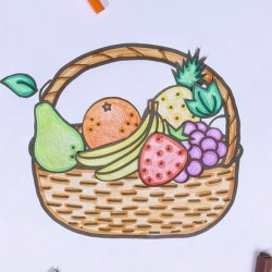 Bostik DIY Australia tutorial Fruit Basket banner