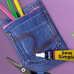 Bostik DIY South Africa Tutorial Sew Simple Pencil Bag Banner