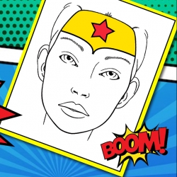 Bostik DIY South Africa Tutorial Superhero Facepaint banner