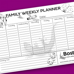 Bostik DIY South Africa Tutorial Weekly Planner teaser image