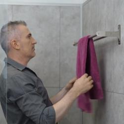 Bostik DIY France news comment fixer un porte serviette sans percer banner image