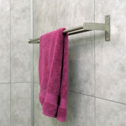 Bostik DIY France tutorial Fix a towel rack without drilling teaser image