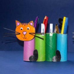 Bostik DIY South Africa Tutorial Paper roll cat Teaser