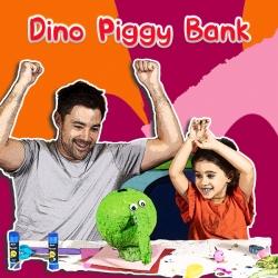 Bostik Australia DIY Dino Piggy Bank