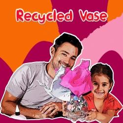Bostik Australia DIY Recycled Vase
