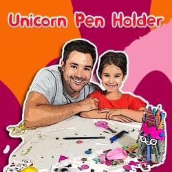Bostik DIY Australia Unicorn Pen Holder