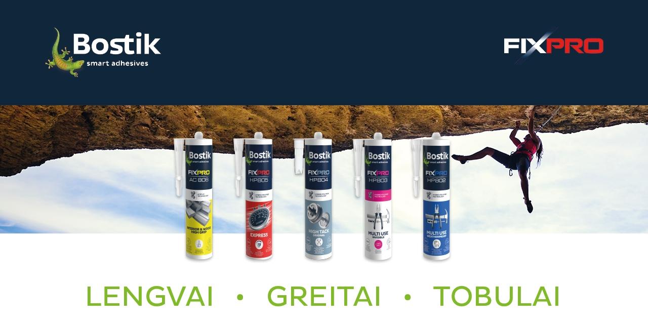 Bostik DIY Lituania Fixpro banner image