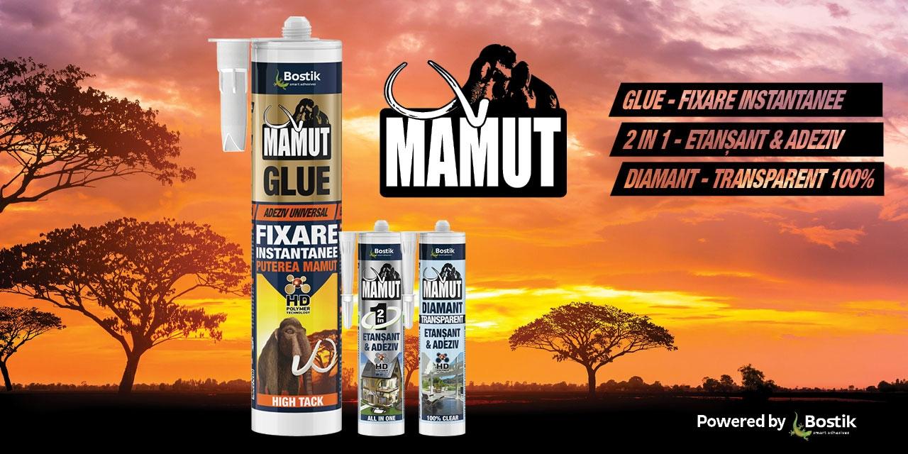 Bostik DIY Romania mamut range bannner