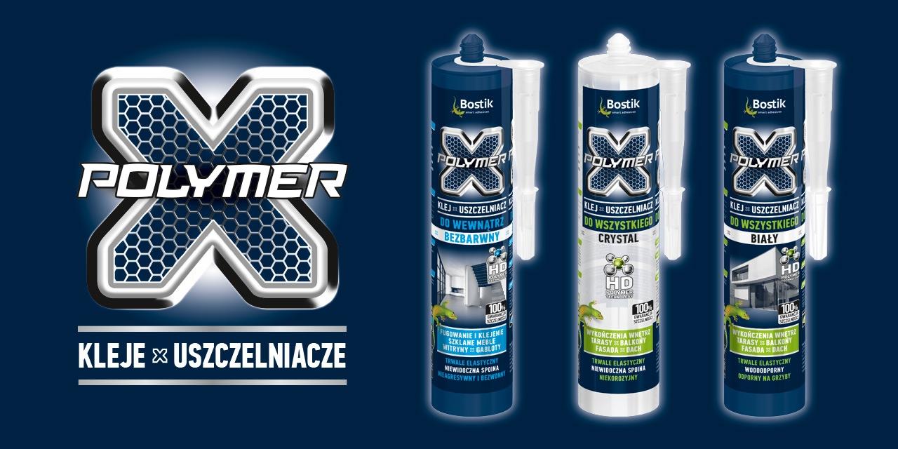 Bostik DIY Poland X-Polymer range banner image
