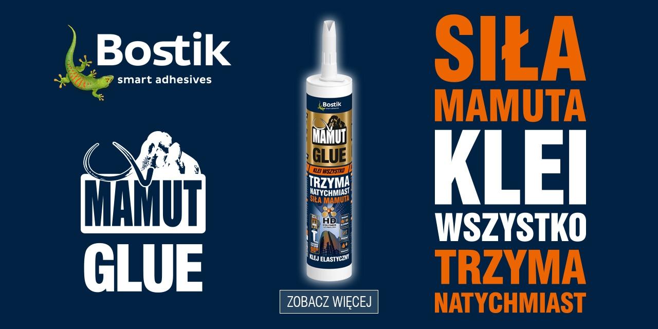 Bostik DIY Poland Mamut range banner