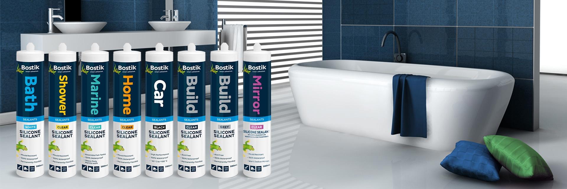 Bostik DIY South Africa Sealants range banner