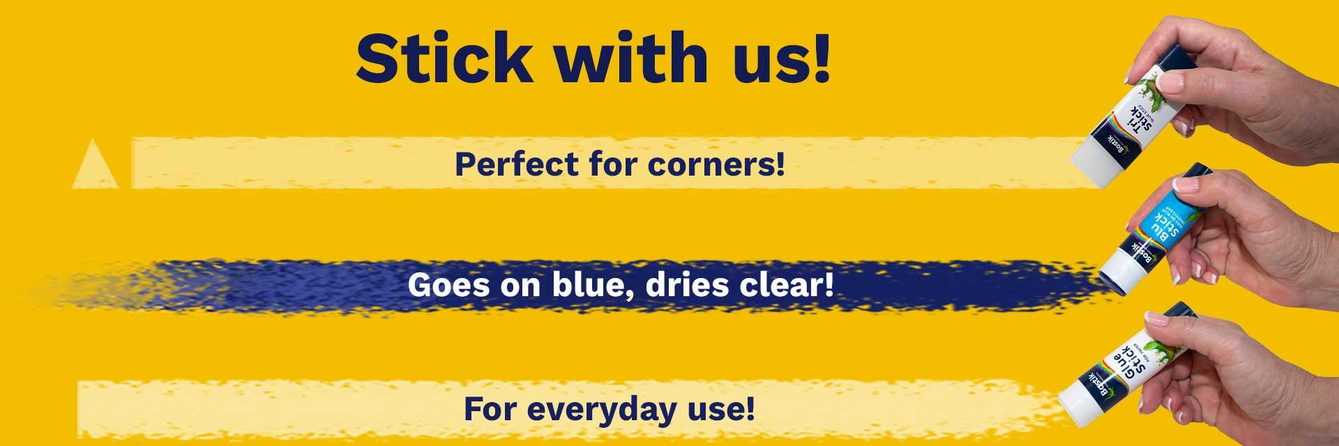 Bostik DIY South Africa Stationery range banner