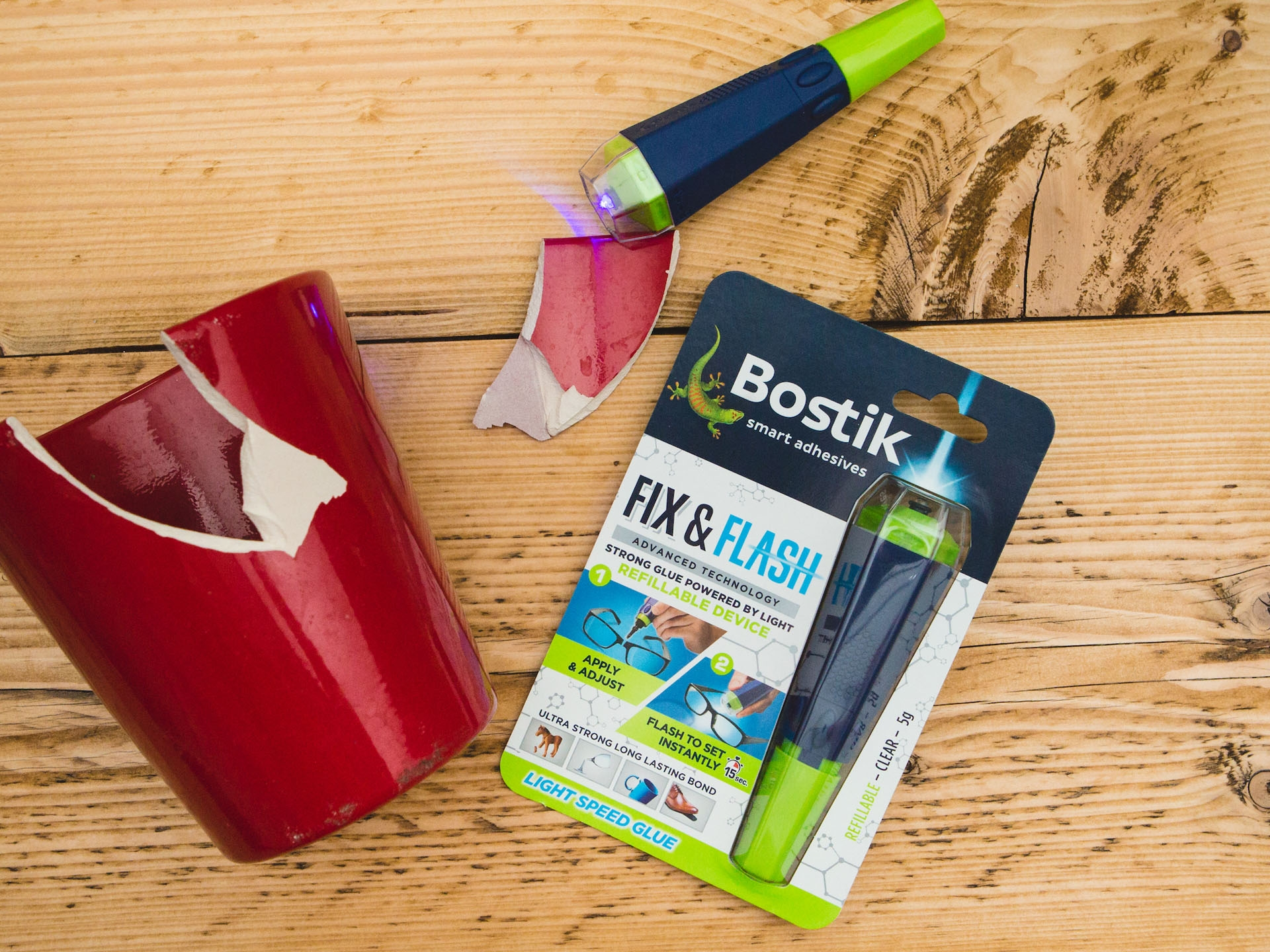 Bostik DIY Fix and Flash Device United Kingdom Impression image version 3