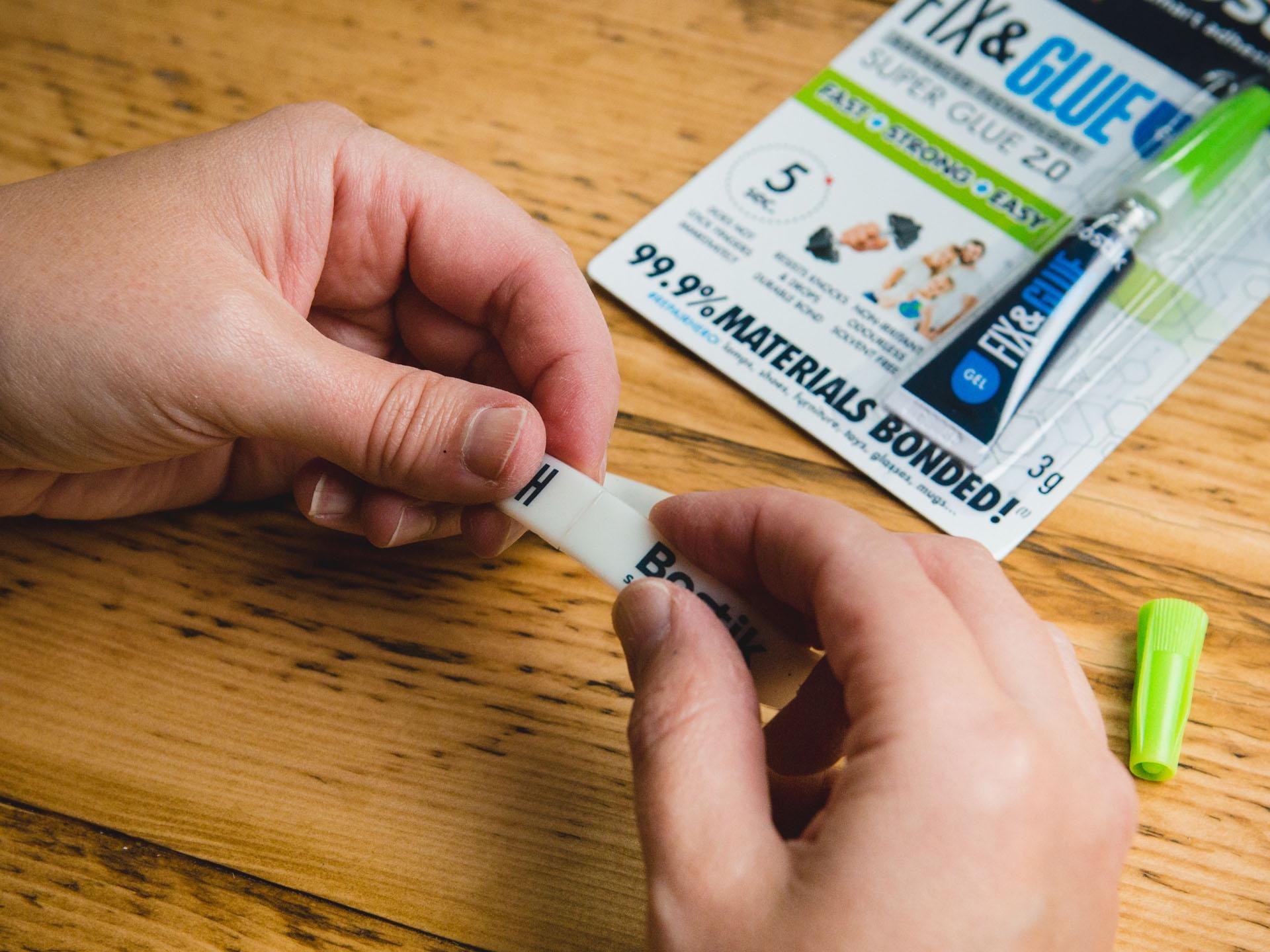 Bostik DIY Fix and Glue Gel United Kingdom Impression