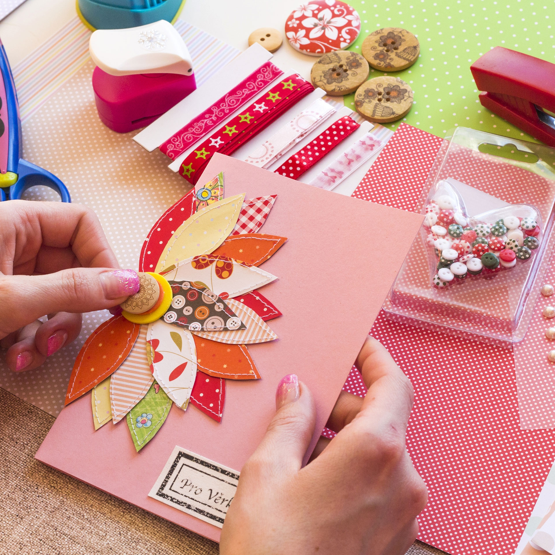 Bostik DIY Greece Stationery & Craft Micro Dots how to use