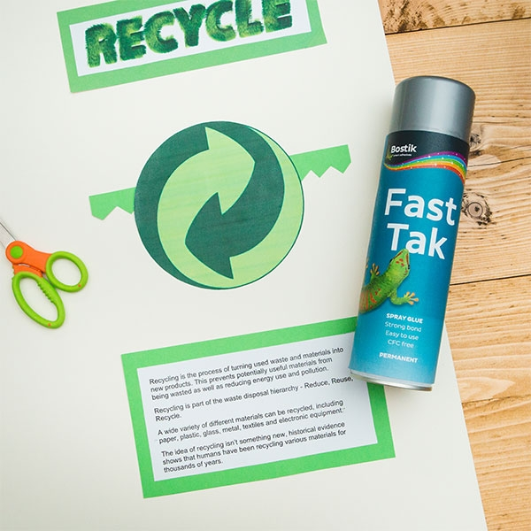 Bostik DIY UK Stationery Craft fast tak permanent spray product image