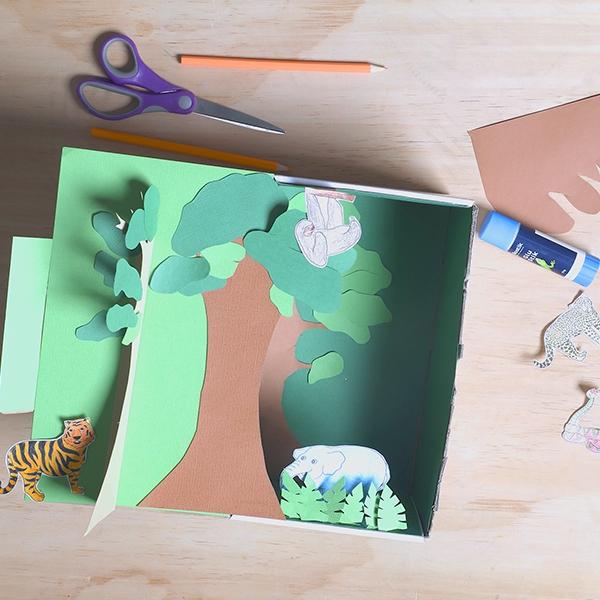 Bostik DIY Malaysia tutorial Tropical Rainforest Step 7