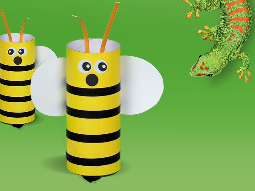 Bostik DIY South Africa Tutorial Buzzy The Bee Banner