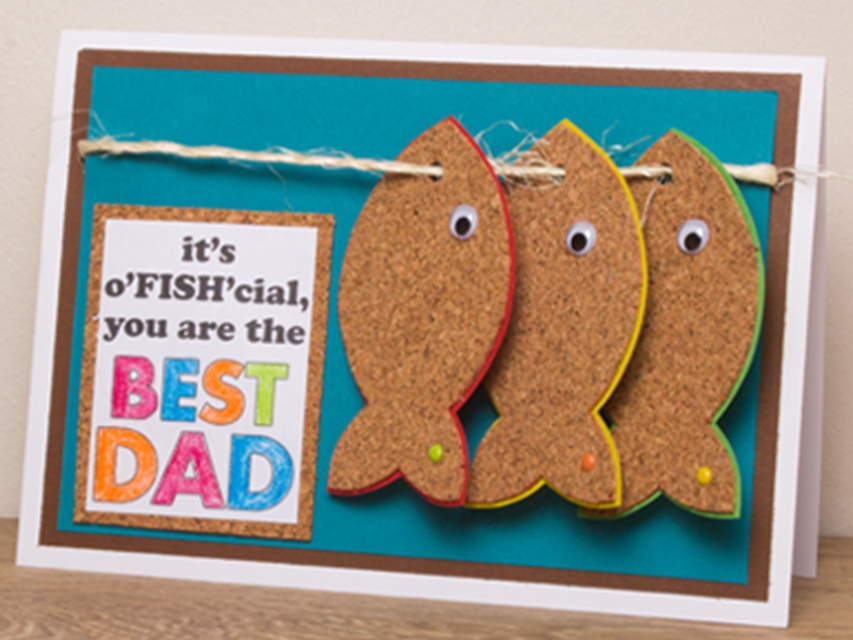 Bostik DIY South Africa Tutorial Fathers Day Card banner