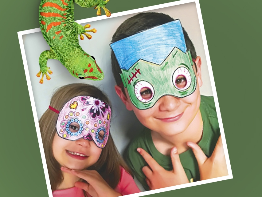 Bostik DIY South Africa Tutorial Halloween Masks banner