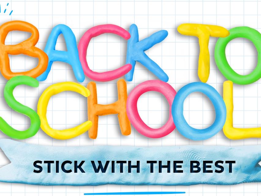 Bostik DIY Australia homepage back to school banner desktop