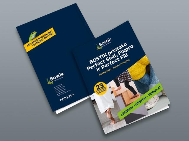 Bostik DIY Poland Perfect Seal Perfect Fill Fixpro brochure