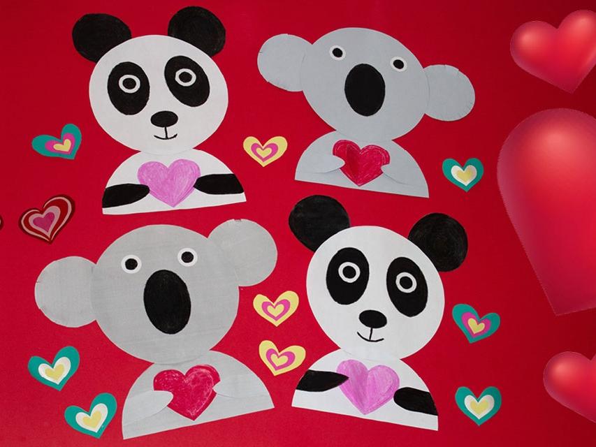 Bostik DIY South Africa Tutorial Valentines Animals banner