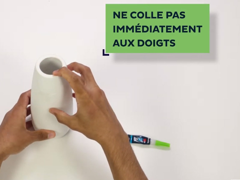 Bostik DIY France news comment reparer ceramique 1 minute banner image