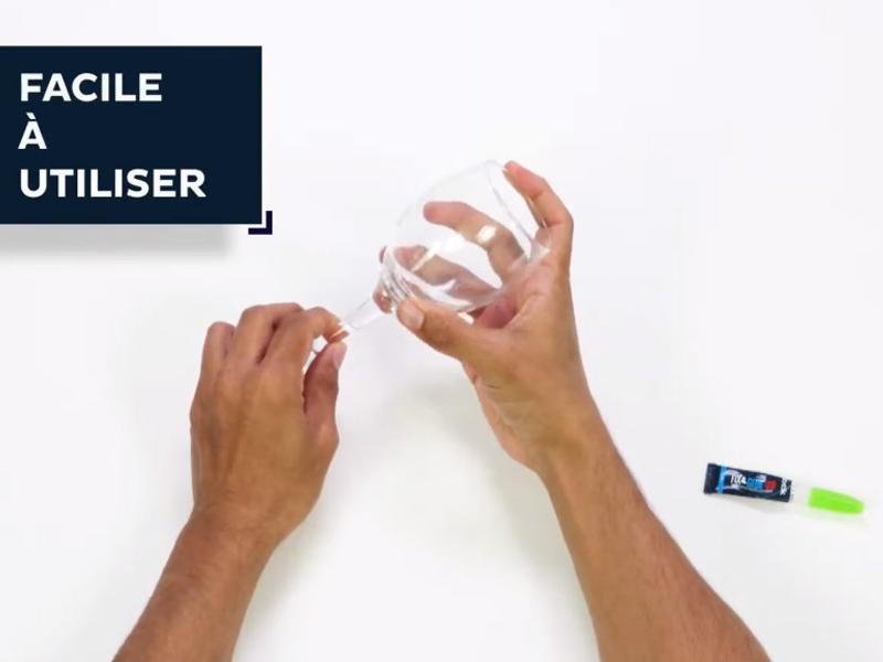 Bostik DIY France news comment reparer votre verre en 1 minute banner image