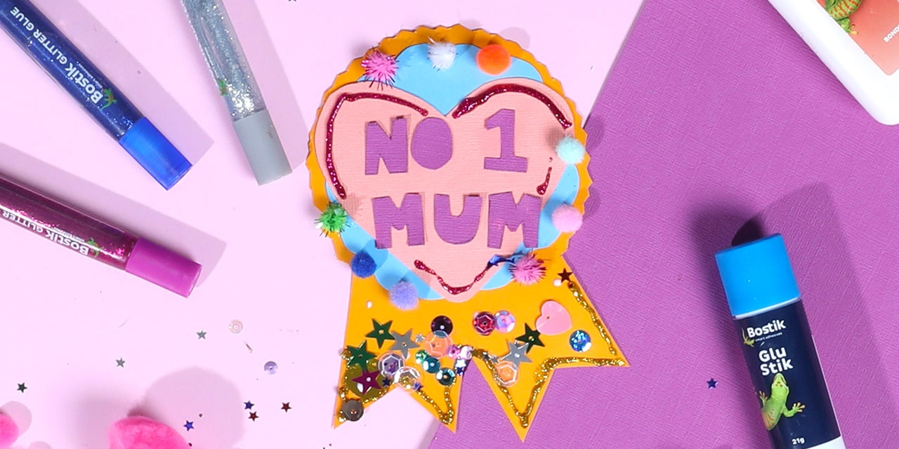 MOTHER'S DAY BEST MUM RIBBON