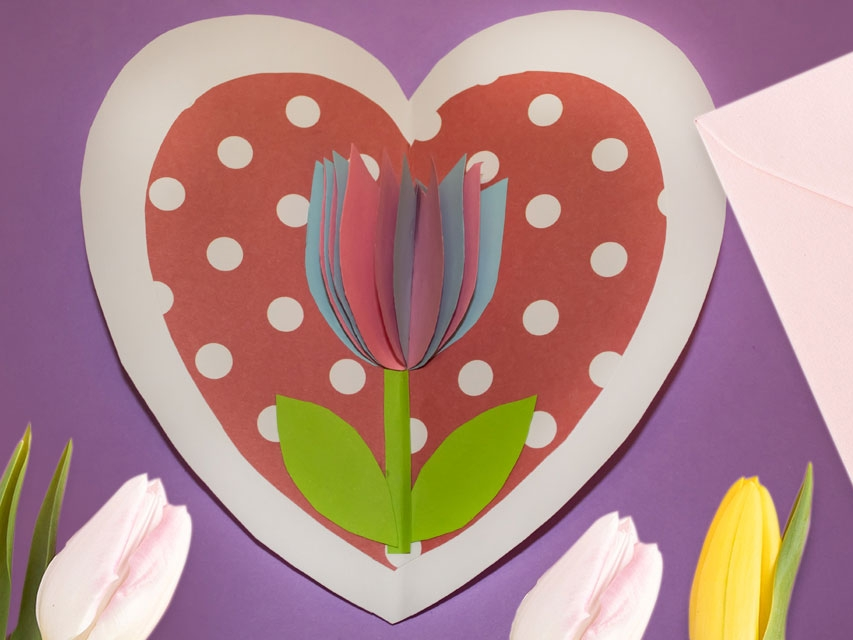 Bostik DIY South Africa Tutorial Mother's Day Card Banner