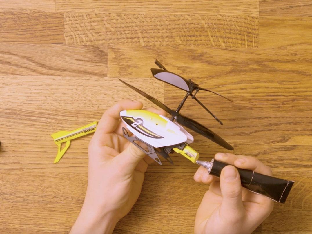 Bostik DIY United Kingdom how to use hard plastic step 3