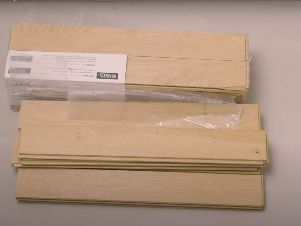 Bostik DIY France How to glue parquet step 1