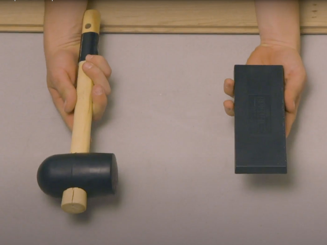 Bostik DIY France How to glue parquet step 2