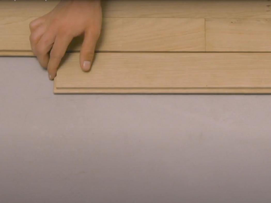Bostik DIY France How to glue parquet step 3