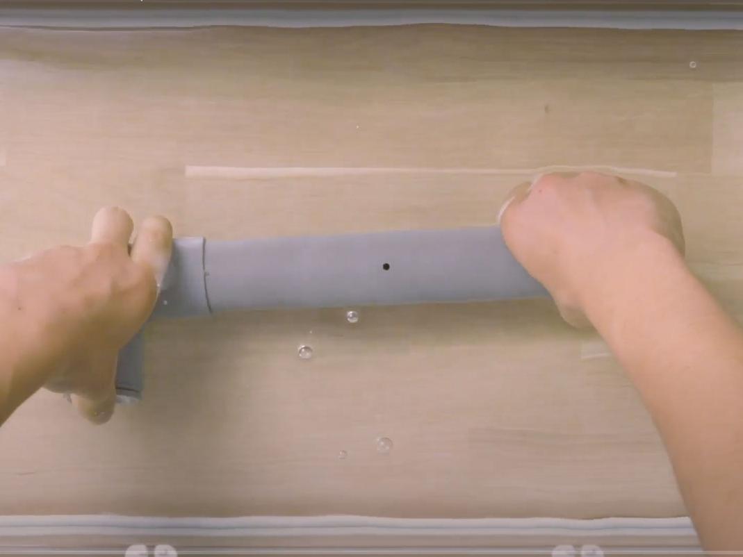 Bostik DIY France How to stop a leak step 1