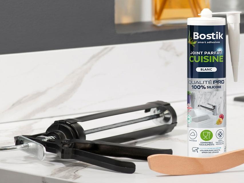 Bostik DIY France tutorial how to make a kitchen seal banner image