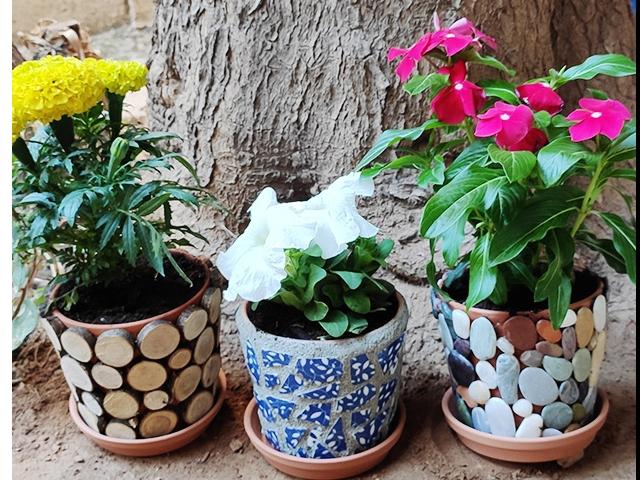 Bostik DIY Greece tutorial Flower Pots banner image