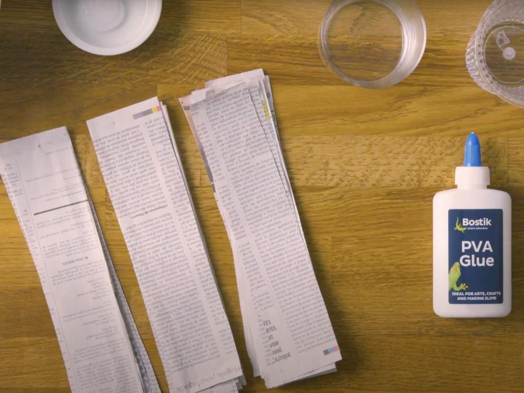 Bostik DIY United Kingdom How to Paper Mache step 1
