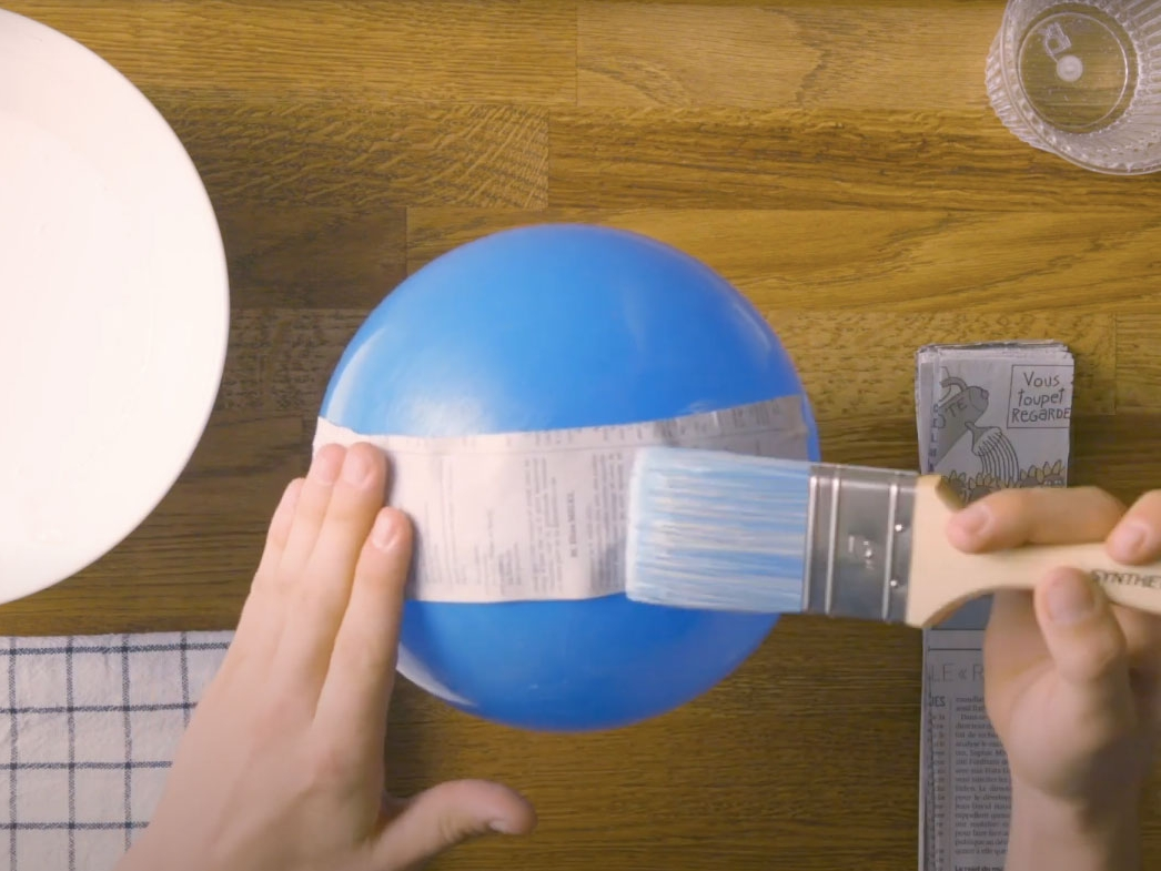 Bostik DIY United Kingdom How to Paper Mache step 4