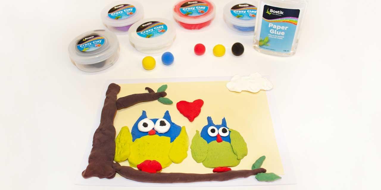Bostik DIY South Africa Tutorial Fathers Day Owl Card Teaser