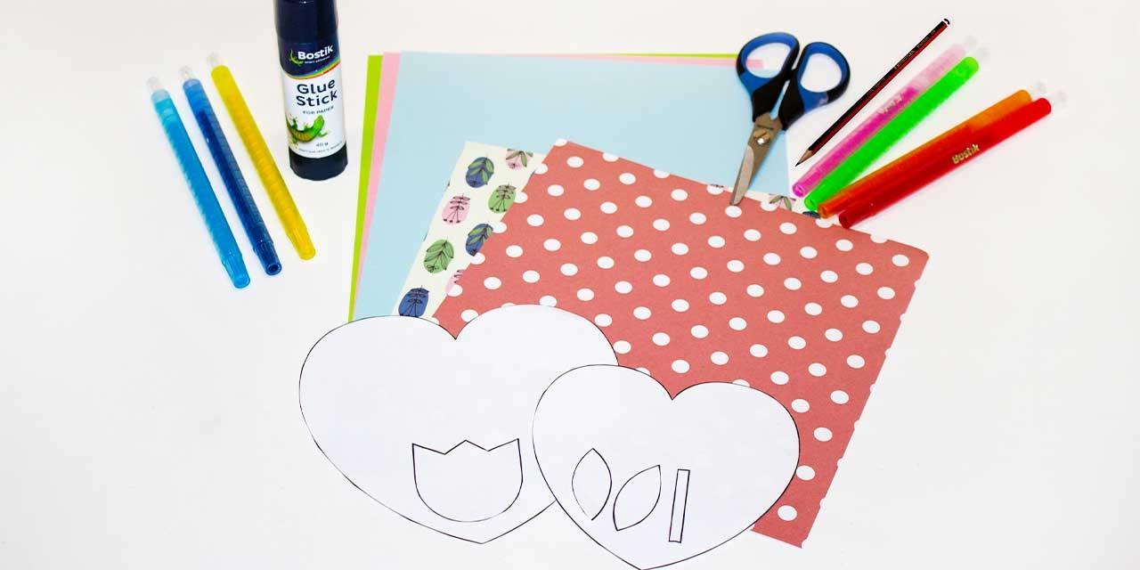 Bostik DIY South Africa Tutorial Mother's Day Card Teaser