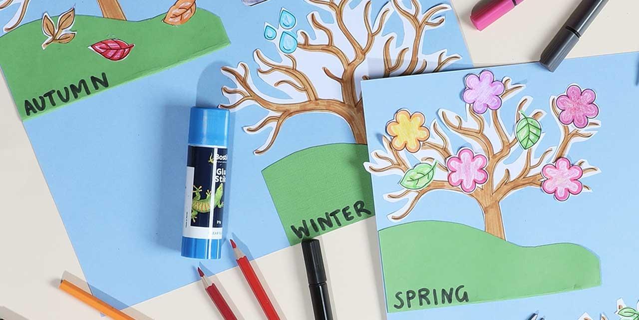 Bostik DIY Indonesia tutorials weather tree banner image