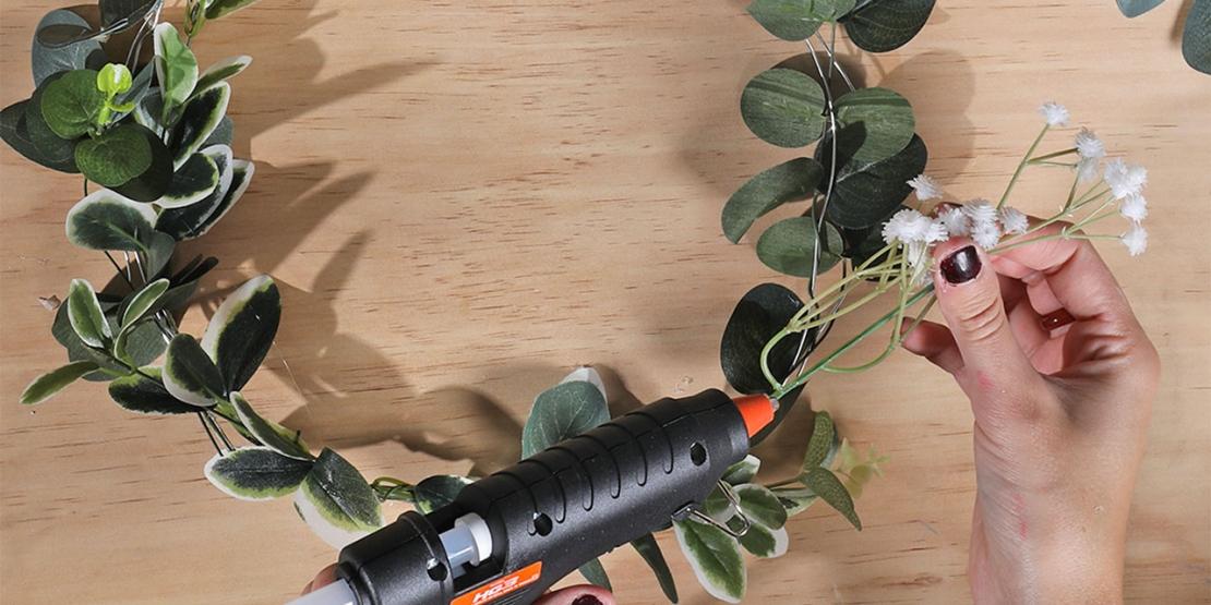 DIY Bostik Australia tutorials Wreath header