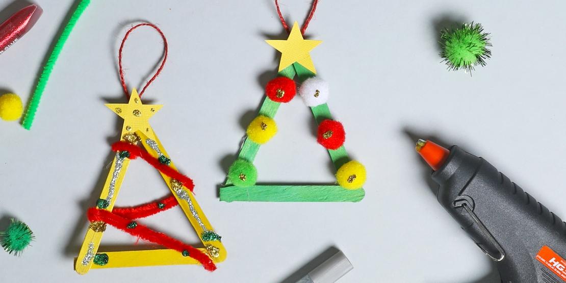 Bostik DIY Australia tutorials Christmas Tree Ornaments banner