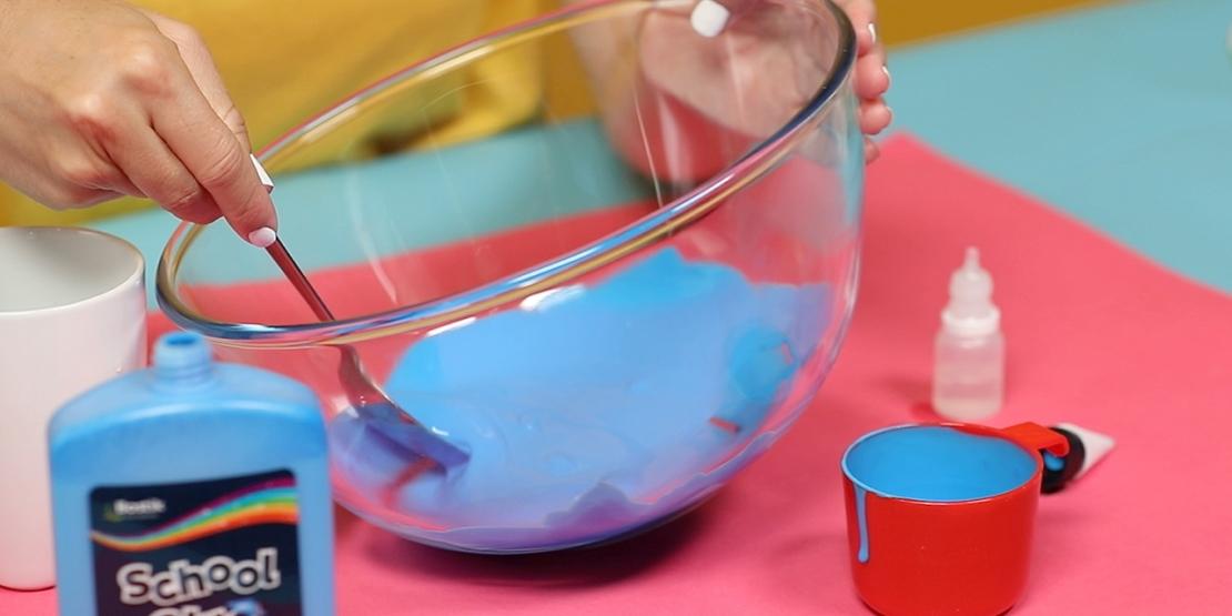 Bostik DIY Australia tutorial Slime Colour Wheel banner