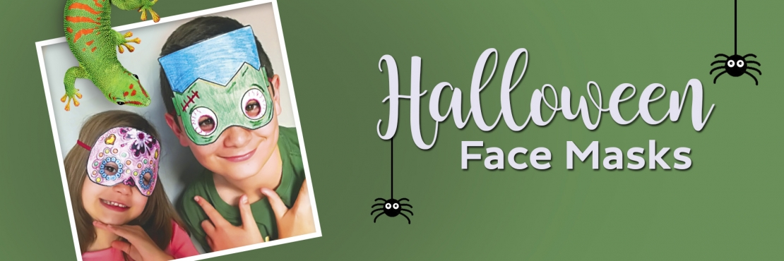 Bostik DIY South Africa Tutorial Halloween Masks banner