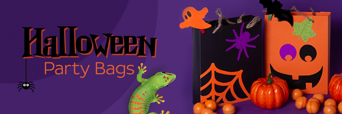 Bostik DIY South Africa Tutorial Halloween Party Bags banner