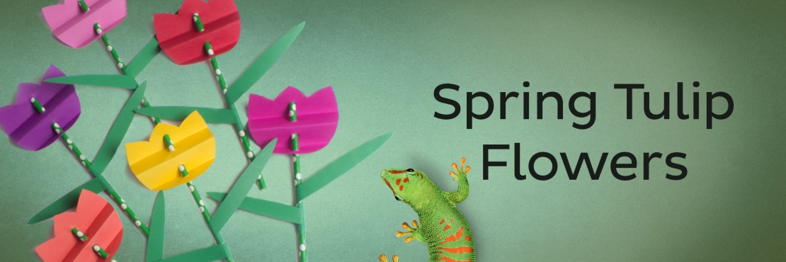 Bostik DIY South Africa Tutorial Spring Tulip Banner